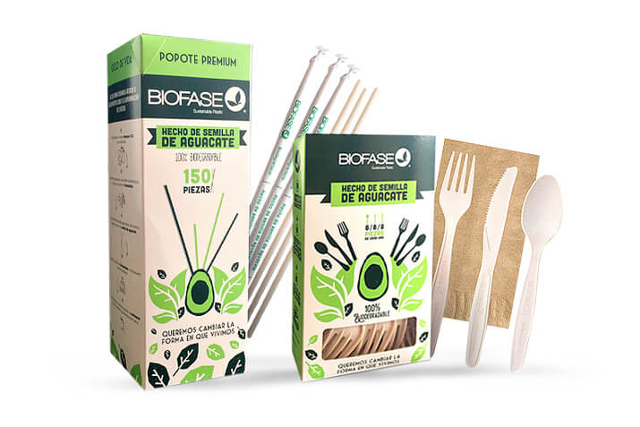 Biofase100% biodegradable/compostable plastic products