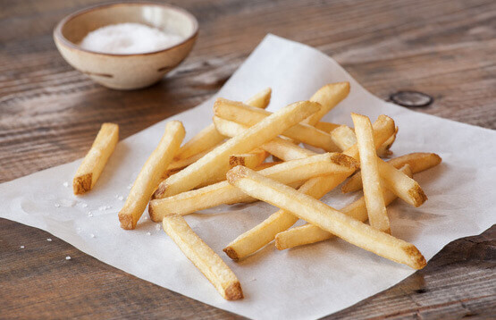 Select Recipe Fries