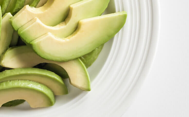 Avocado Slices Image
