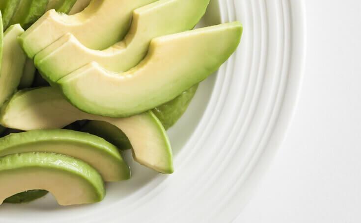 Avocado Slices Image