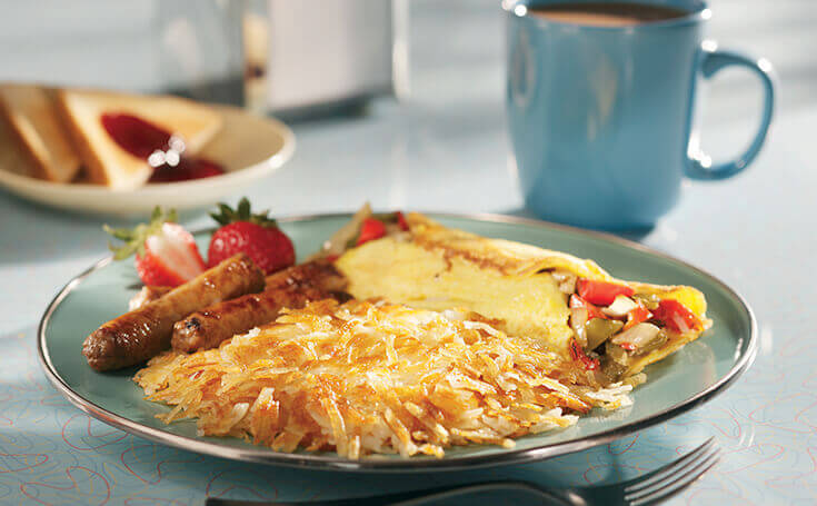 Hashbrowns with Breakfast Image