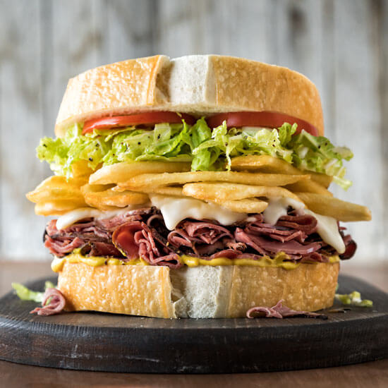 Stacked Sandwich