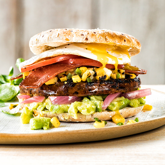 Brunch Veggie Burger
