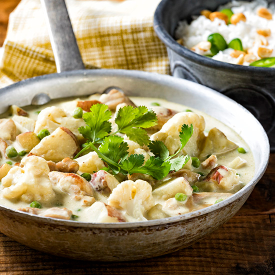 Green Curry Chicken Vegetables