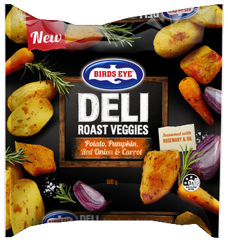BE Deli Roast potato, pumpkin, red onion and carrots 600g