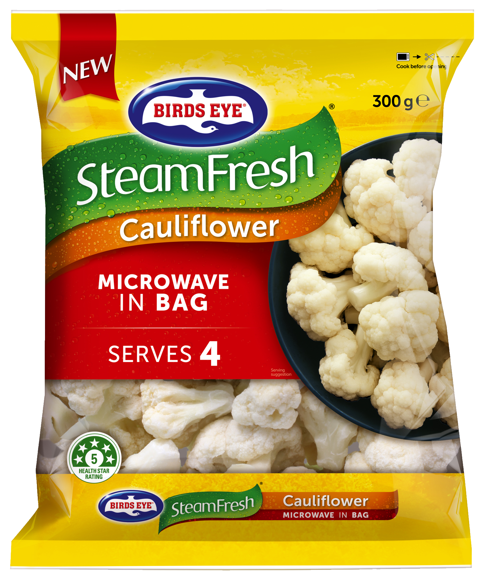Steam Fresh Cauliflower 300g