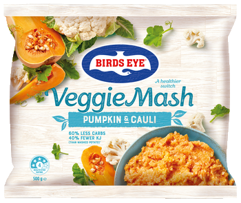 Veggie Mash Pumpkin and Cauliflower