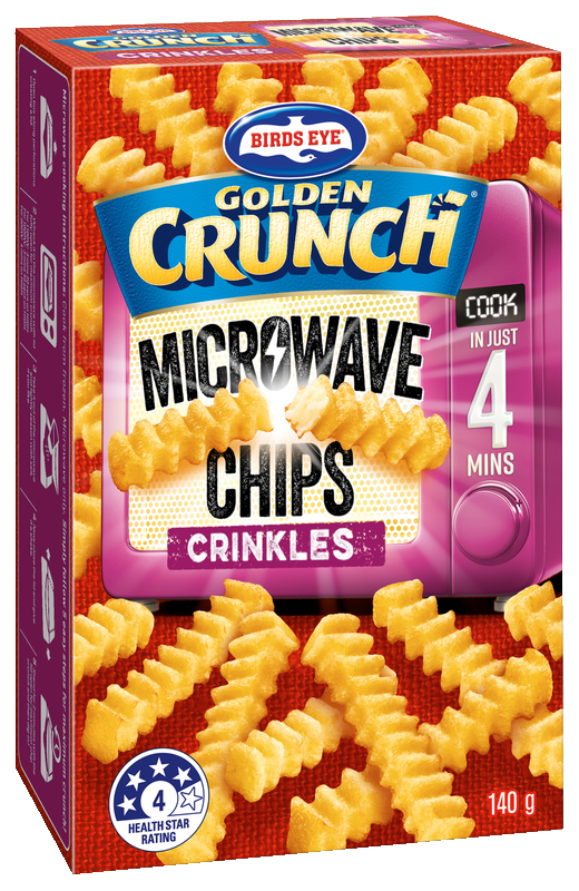 Birdseye Microwave Chips Crinkle