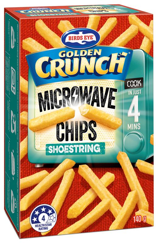 Birdseye Microwave Chips Showstring