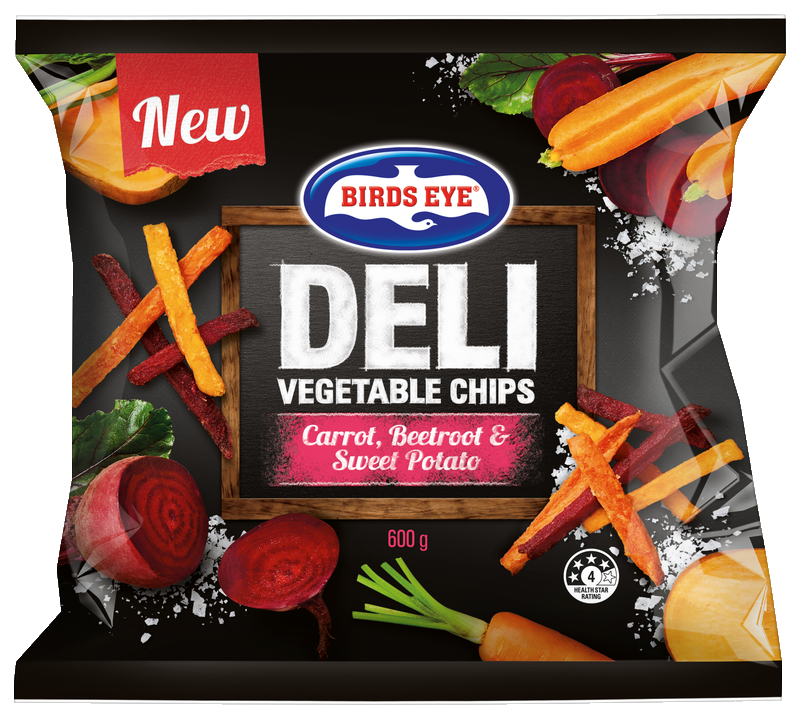 Birdseye Vegetable Chips