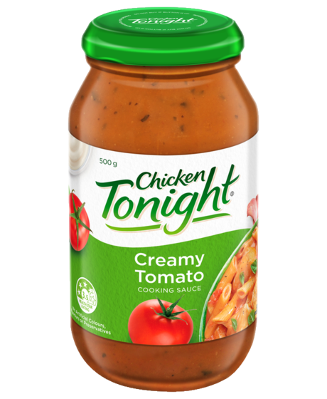 Chicken Tonight Creamy Tomato