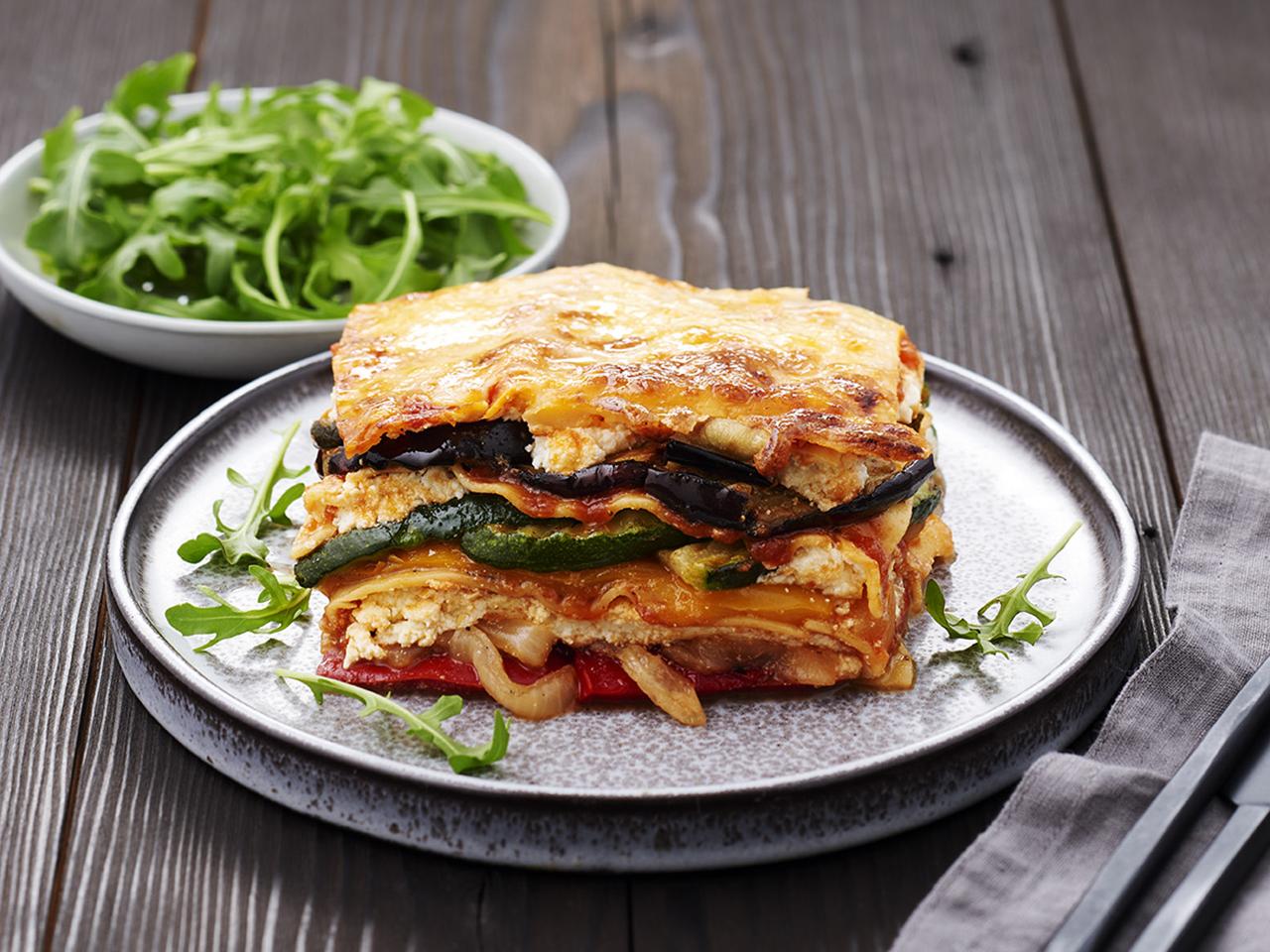 Charred Veg Lasagne