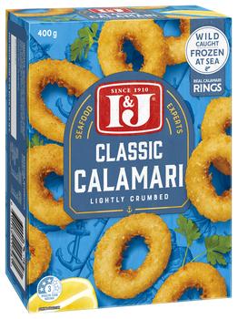 Classic Calamari Rings