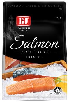 Salmon Skin on