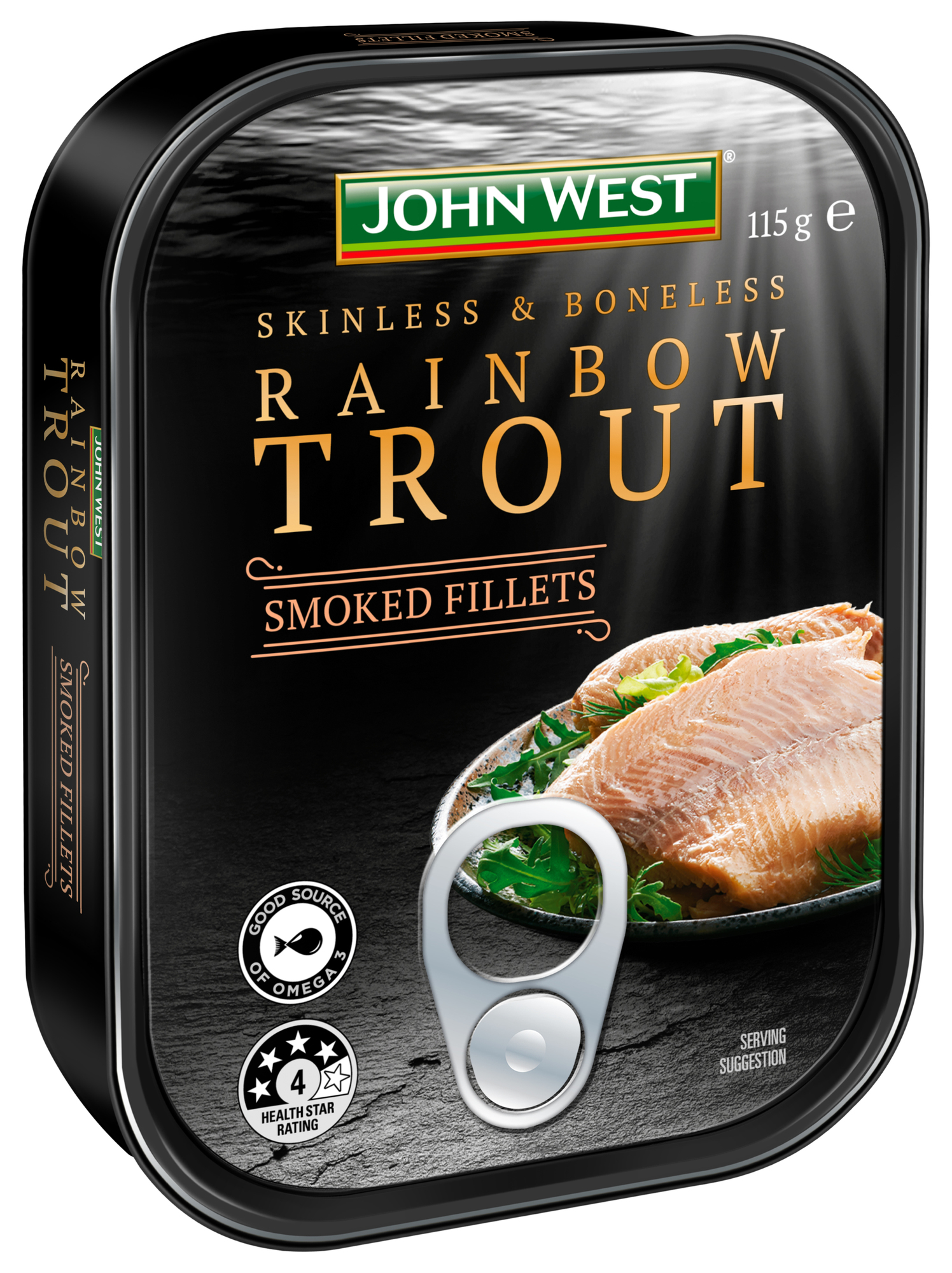 Rainbow Trout Smoked Fillets 115g