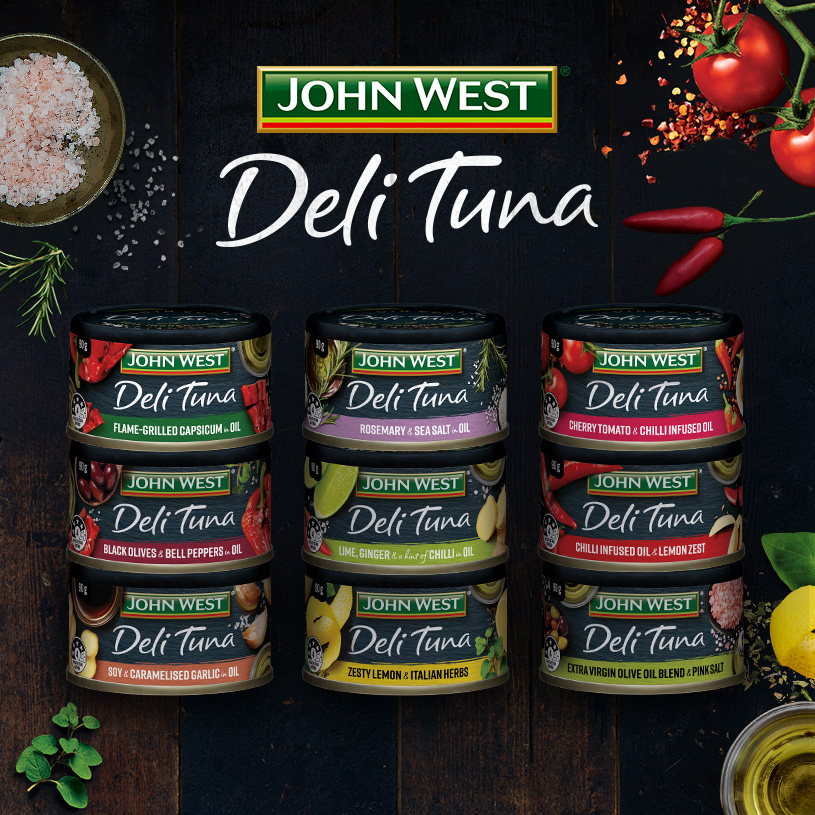John West Tuna Deli Range