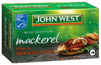 Mackerel Fillets in Sriracha Sauce 125g