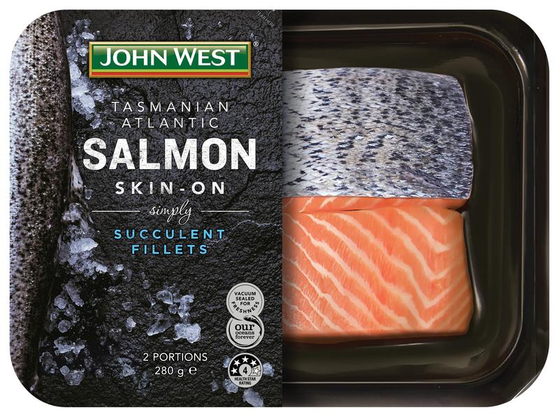 JW Salmon Skin-On
