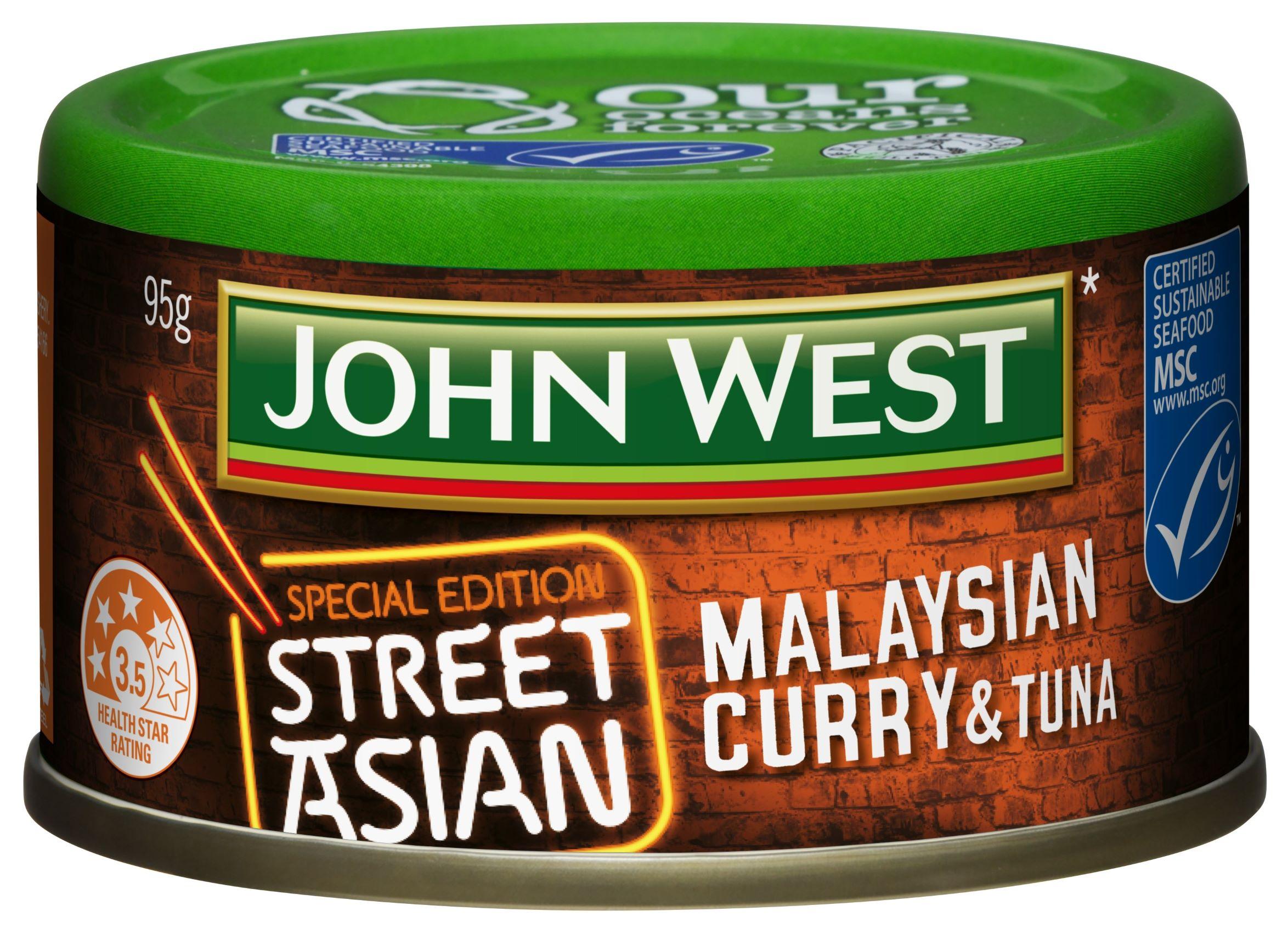 Street Asian Tuna Malaysian Curry 95g