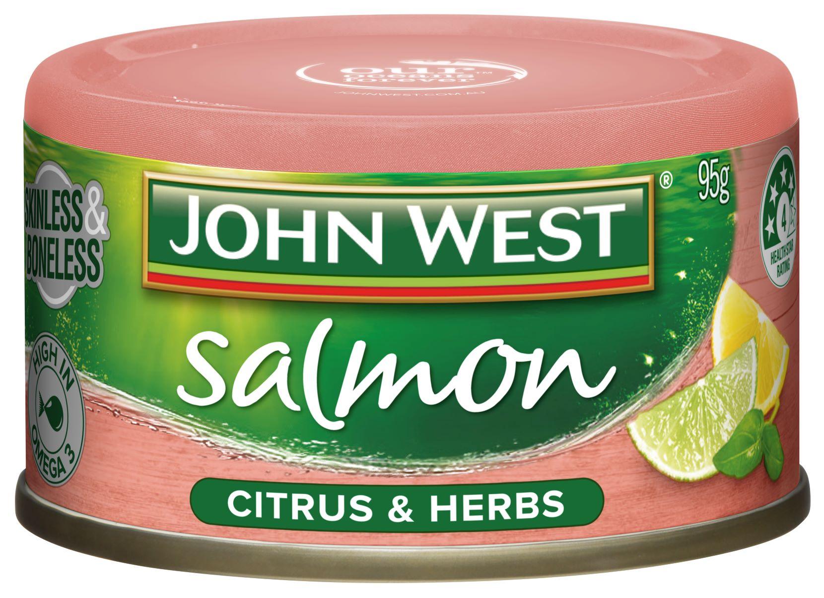 JW Salmon tempter citrus herb