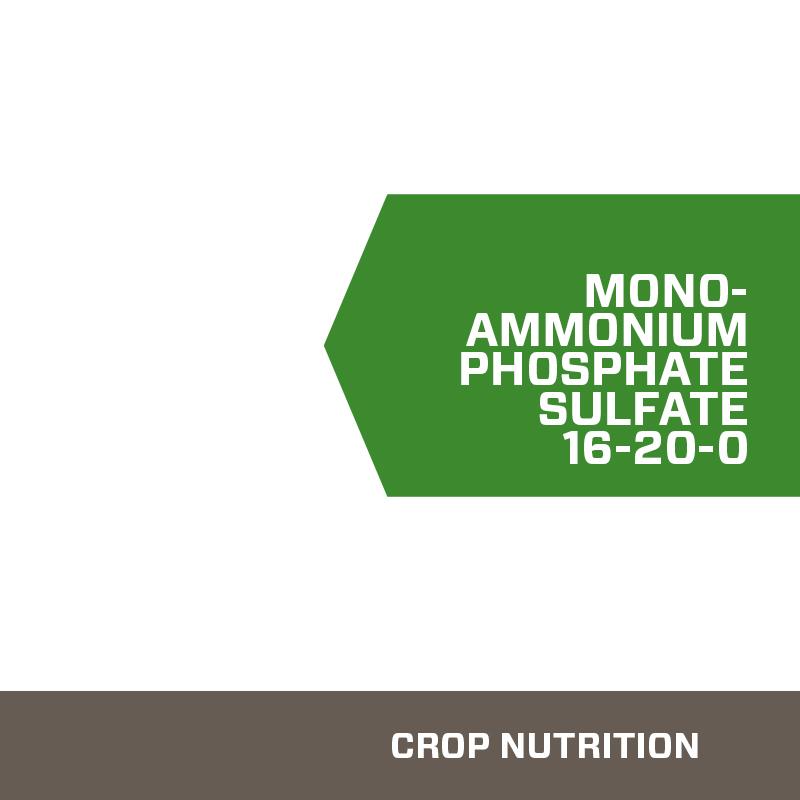16-20-0 mono-ammonium phosphate sulfate fertilizer