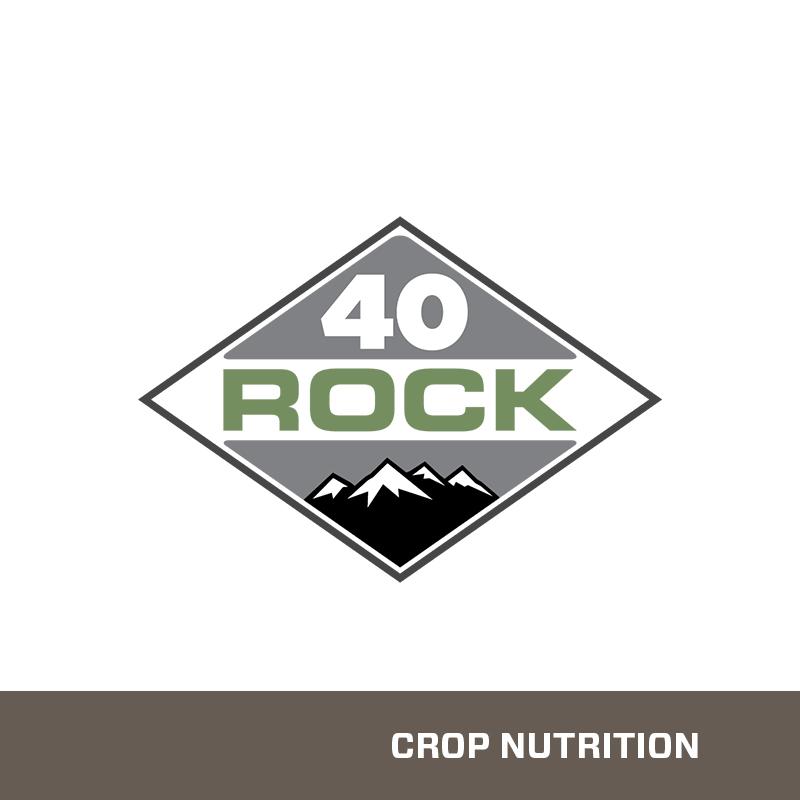 40 Rock Zinc Infused Phosphate Fertilizer