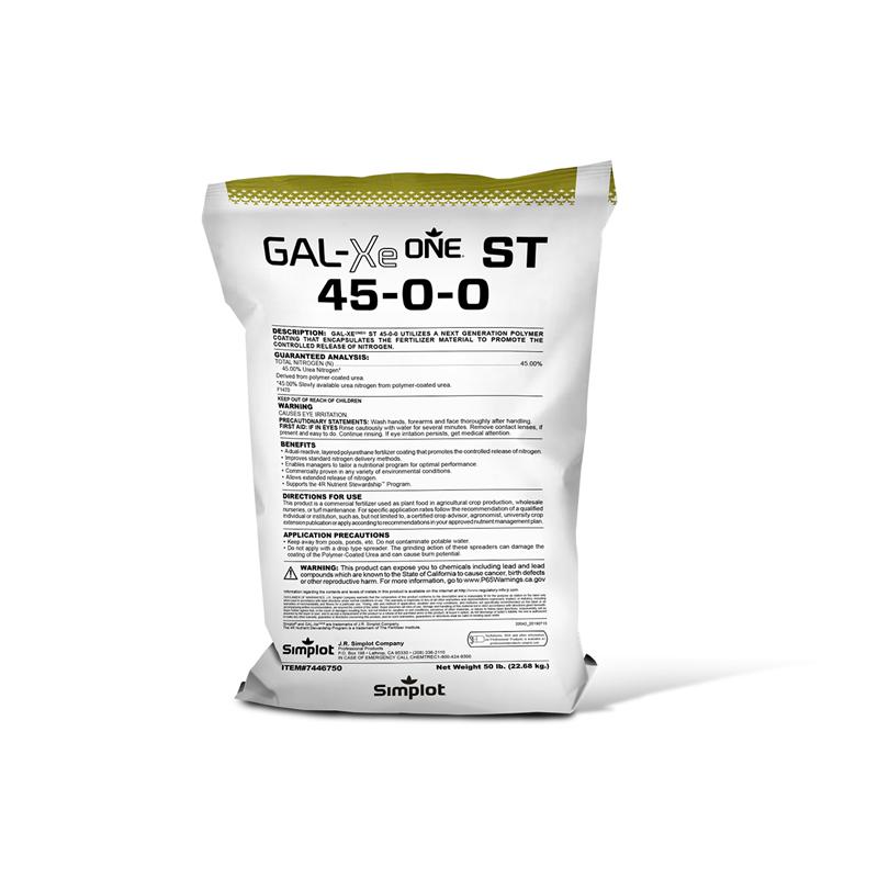 GAL-XeONE ST 45-0-0 controlled release fertilizer